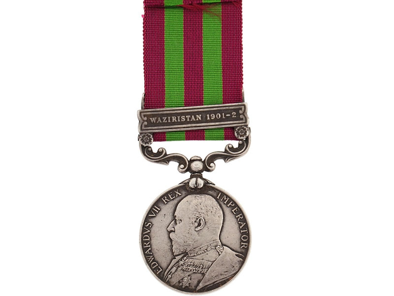 India Medal, 1895-1902