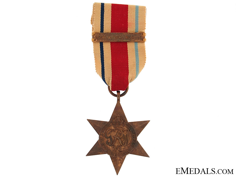 Africa Star with Clasp