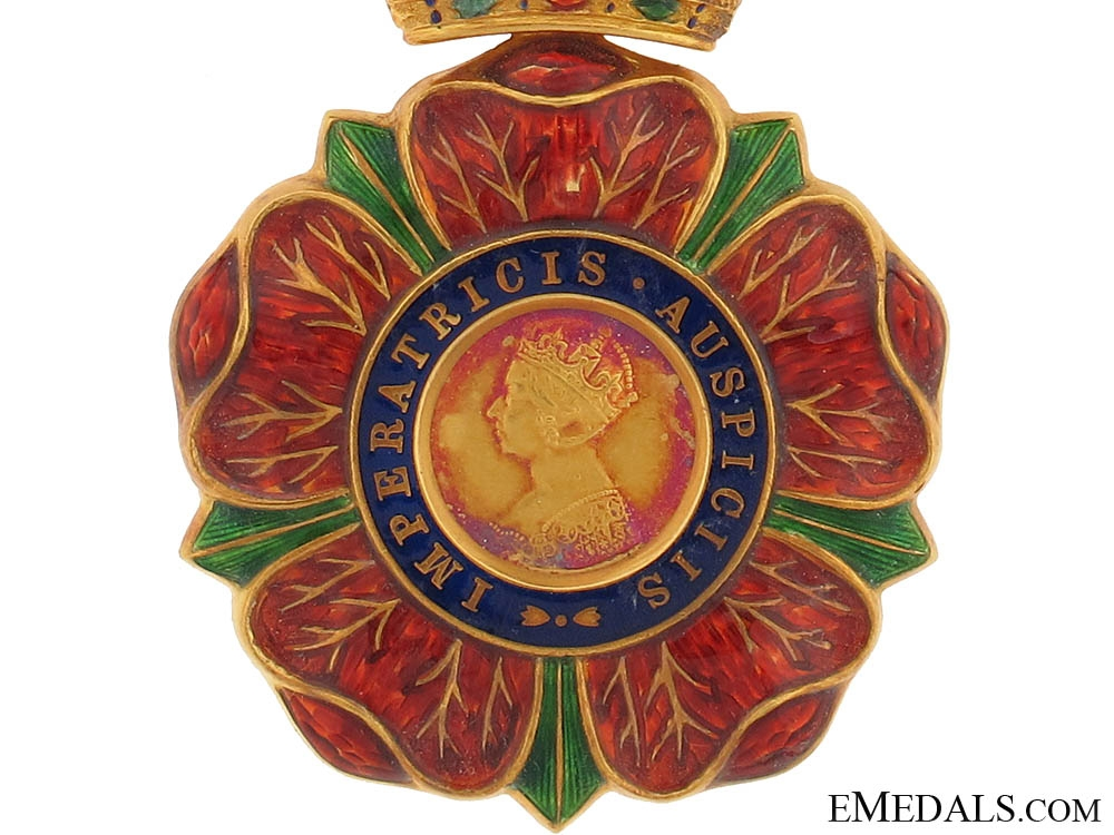 The Most Eminent Order of the Indian Empire to Rear-Admiral Colin Mackenzie