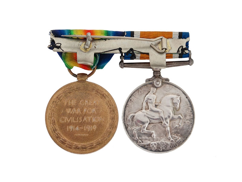 Great War Pair to The Royal Scottish Fusiliers