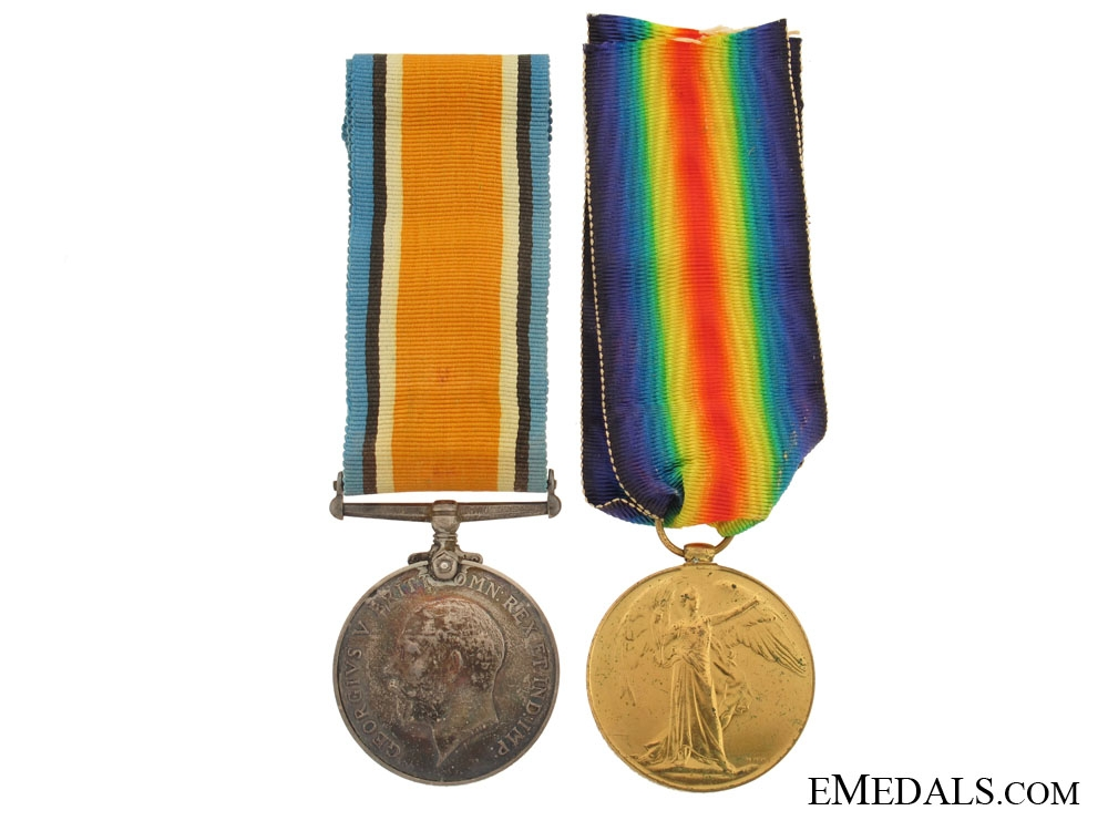 WWI Pair to the Royal Artillery