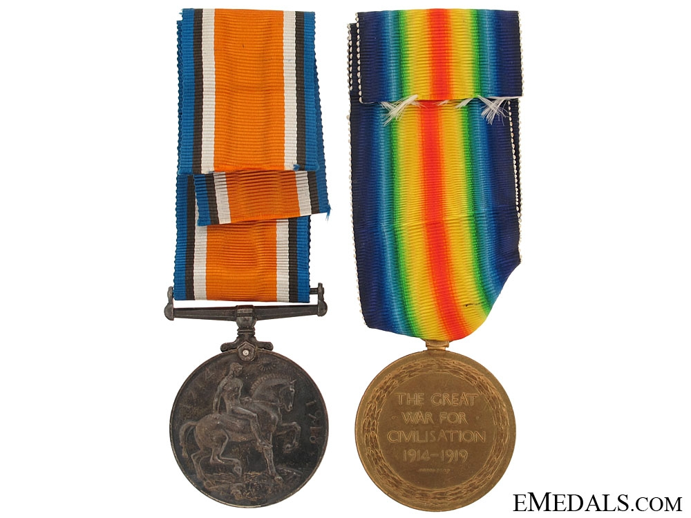 Casualty Pair to the Scottish Rifles