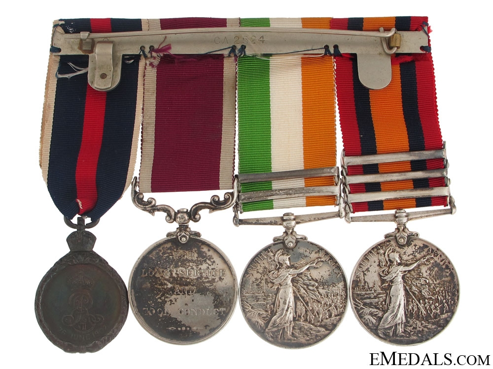 A South Africa War Group of Four