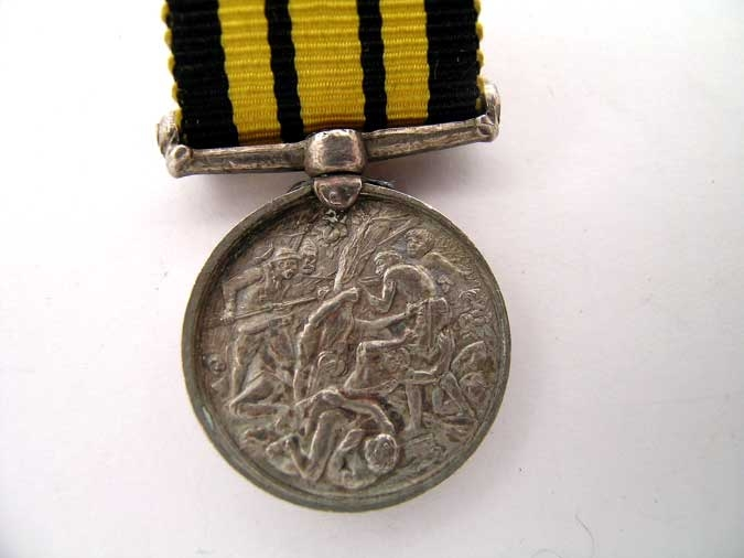 MINIATURE EAST AND WEST AFRICA MEDAL