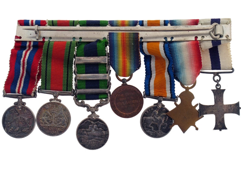 Military Cross Group of Seven
