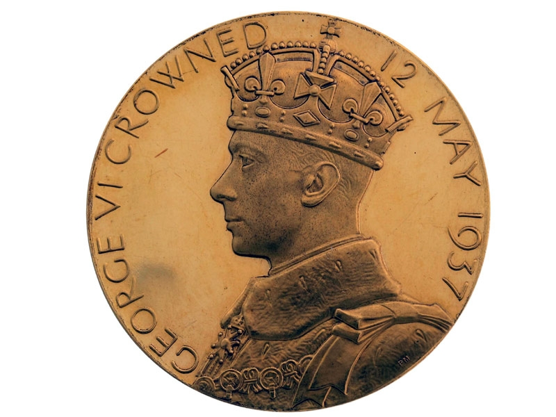 Gold 1937 King George VI Coronation Medal