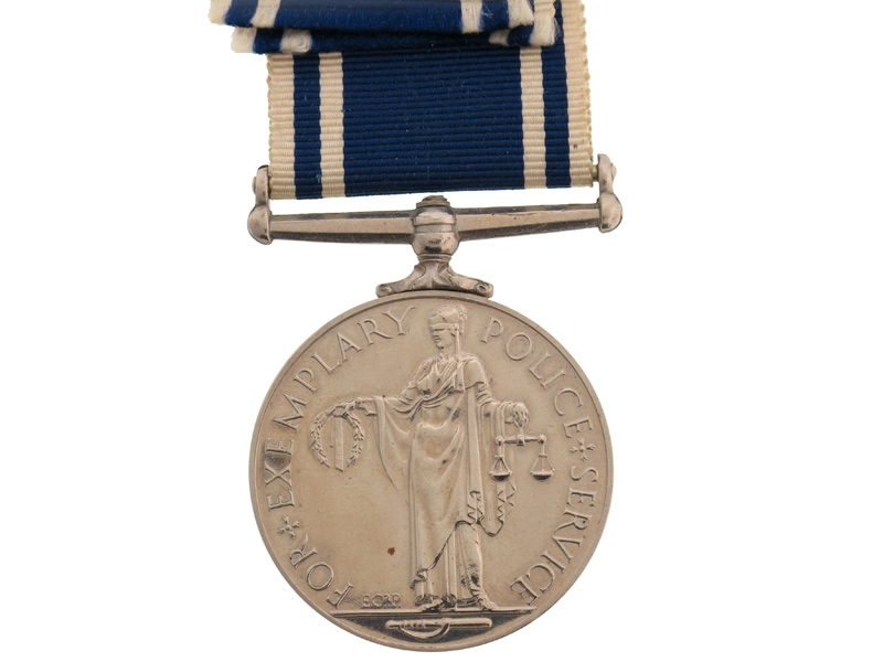 Police Long Service and Good Conduct Medal.