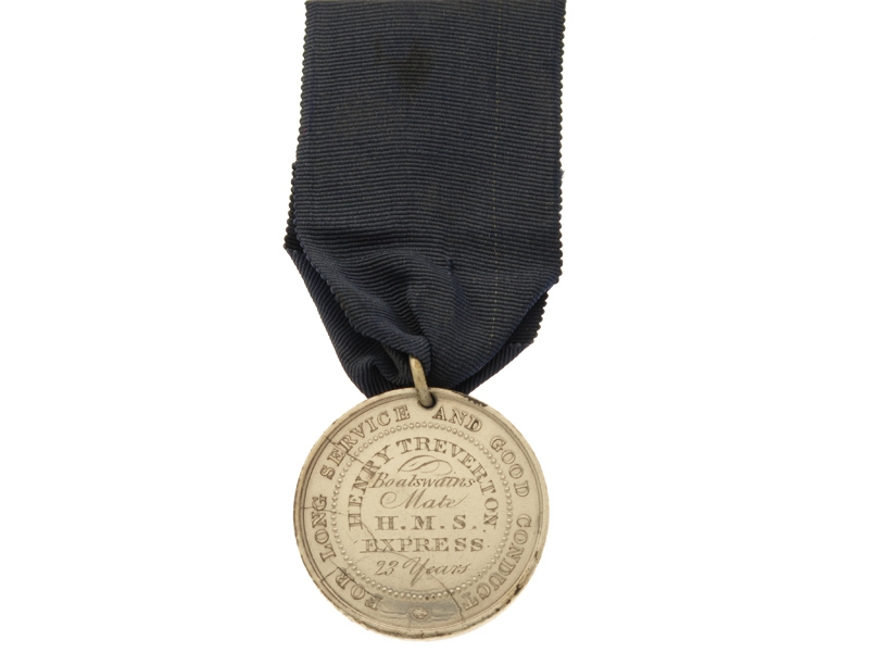 1st Type Royal Naval LS&GC Medal