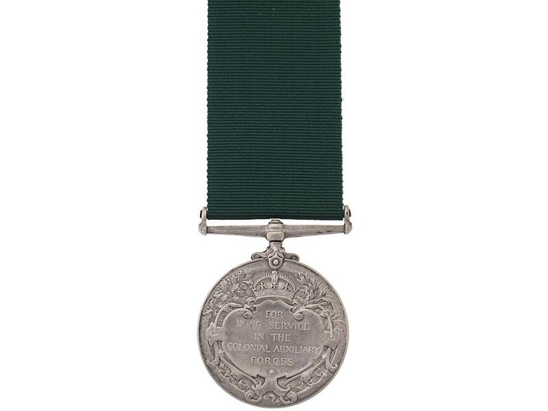Colonial Auxiliary Forces Long Service Medal