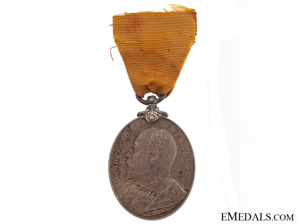 Imperial Yeomanry Long Service & Good Conduct Medal (POW)
