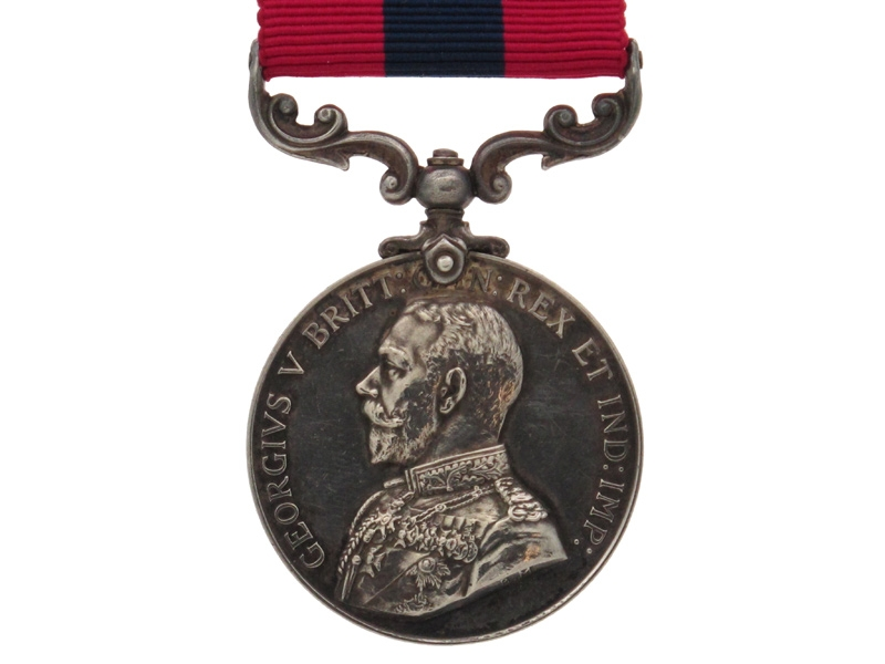 Fine WWI Distinguished Conduct Medal,