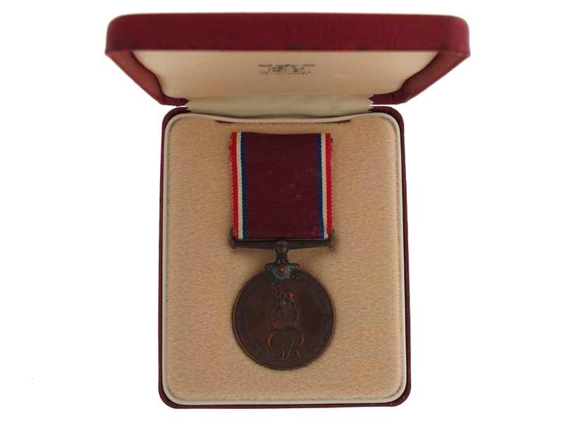 Newfoundland Volunteer War Service Medal