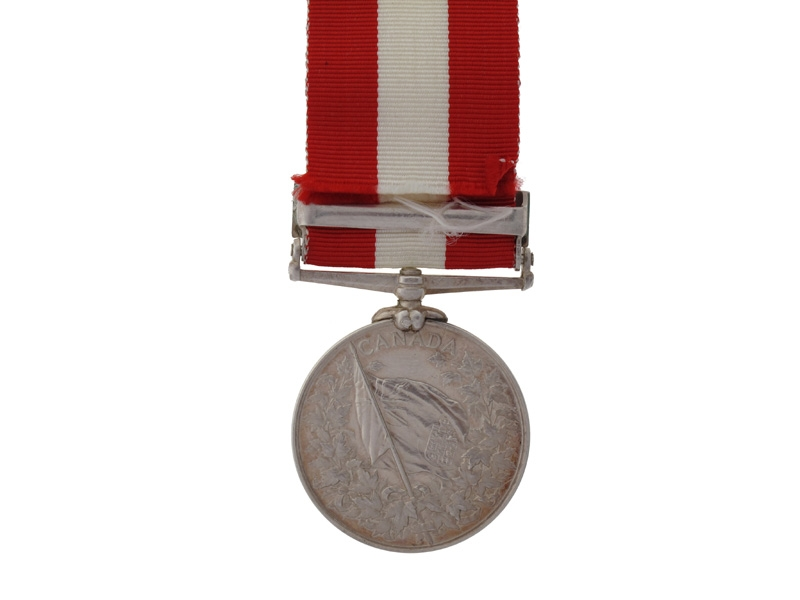 Canada General Service to Lt. H. Givins, R.C.R.