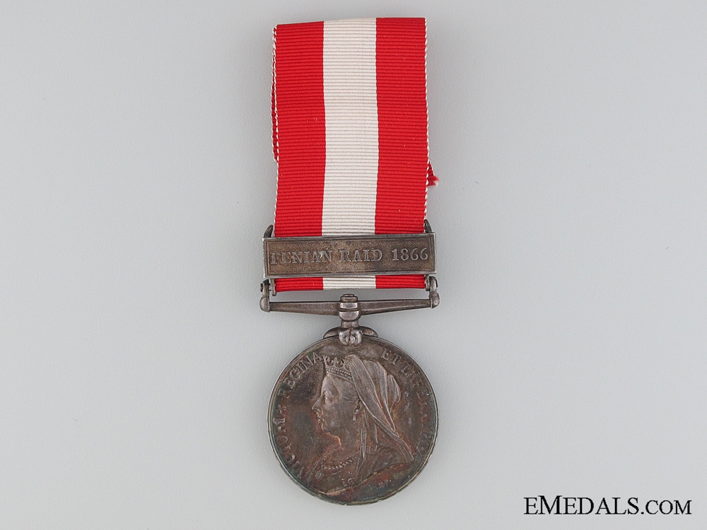 Canada General Service Medal to the St.John Volunteers