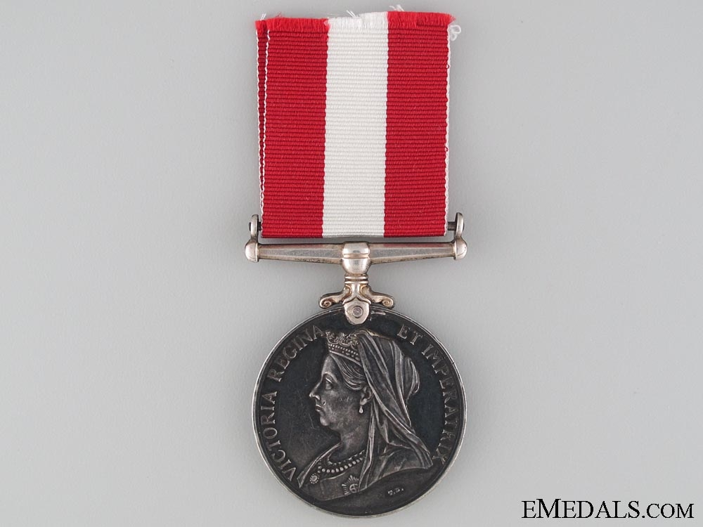 Canada General Service Medal to the 1st Prescott Rifle Company