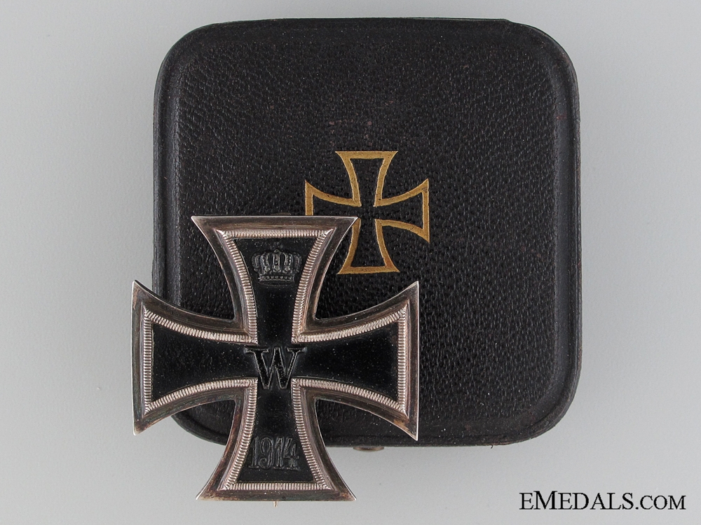 Cased Iron Cross 1st. Class 1914, Sy and Wagner