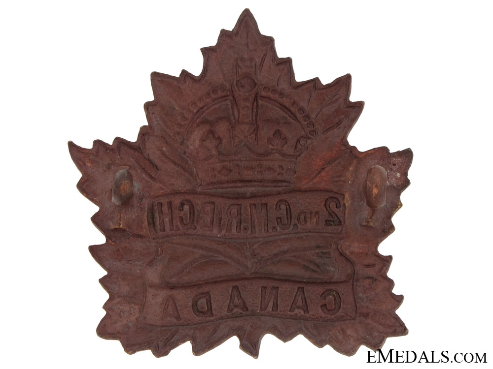 2nd Canadian Mounted Rifles, CEF