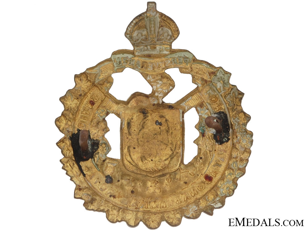 Lord Strathcona's Horse Cap Badge, CEF