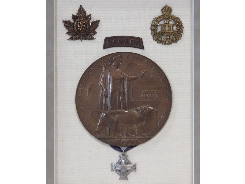 3rd Canadian Infantry Hill 70 Casualty
