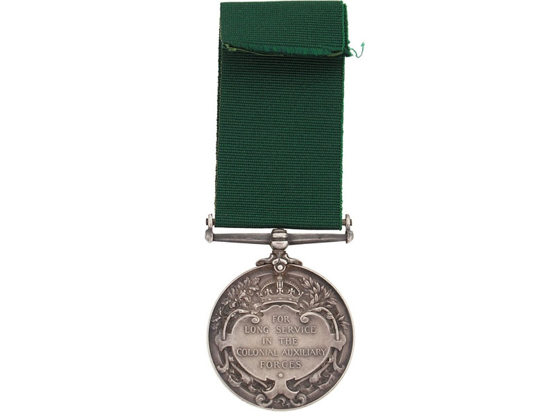 Colonial Auxiliary Forces Long Service Medal, Governor General's Foot Guards