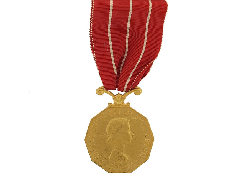Canadian Forces Decoration to Sergeant R.W. Gage