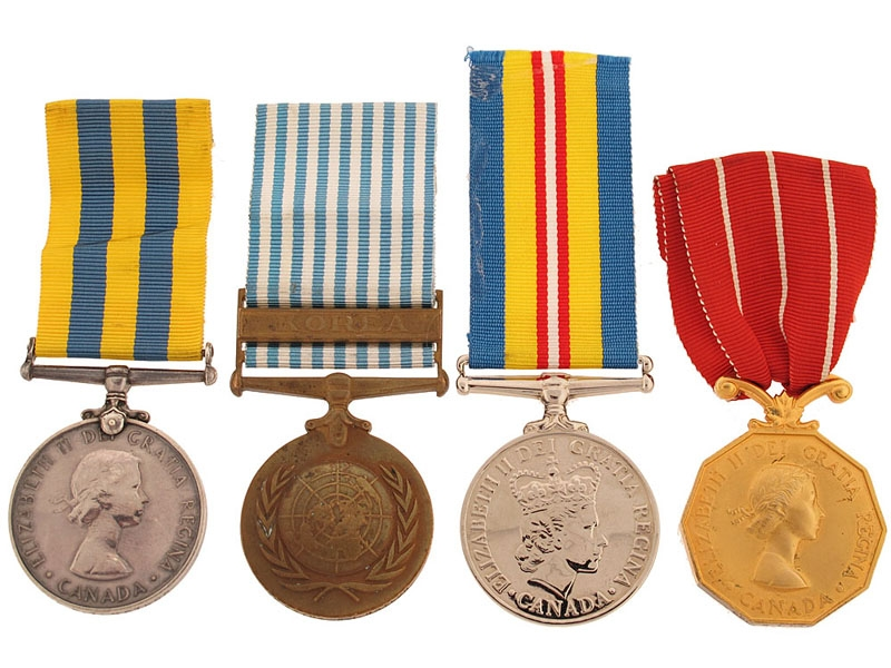 The Awards of Cpl. Naylor, R.C.A.M.C.