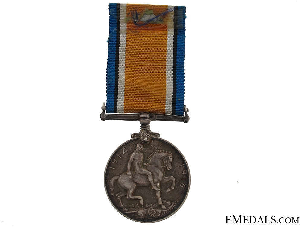 British War Medal - Canadian Army Medical Corps
