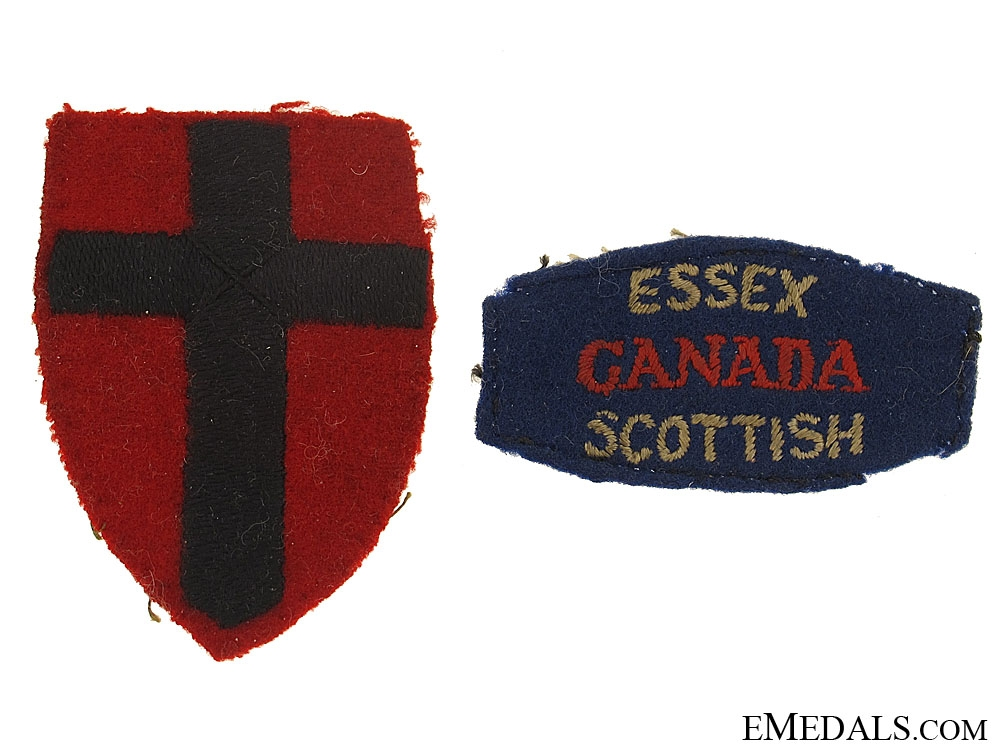Named Group to the Essex Scottish