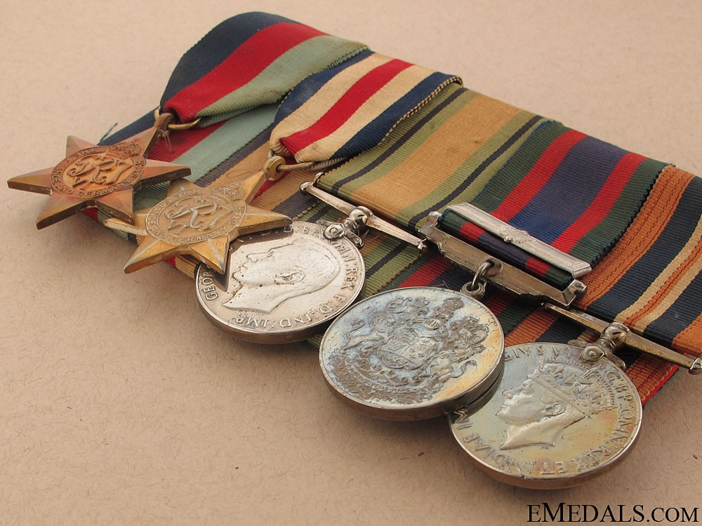WWII Group to Lance Corporal Holland