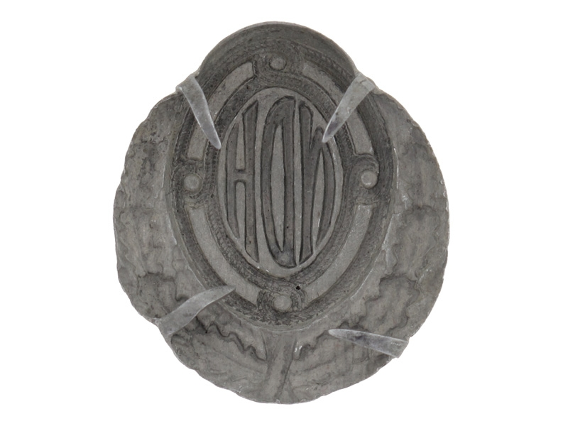 An Early WWII Officer's Army Cap Badge