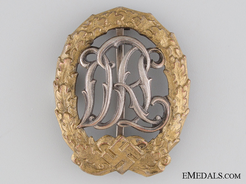A DRL Sports Badge for the War Disabled by Ernst Schneider