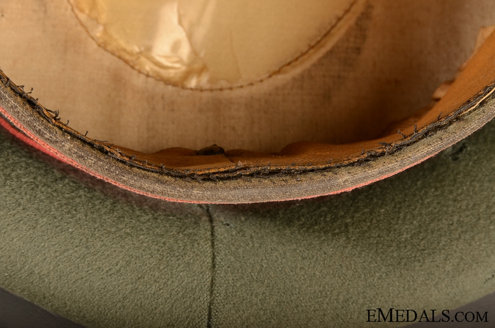 Army Panzer Officer's Visor Cap by Christian Haug