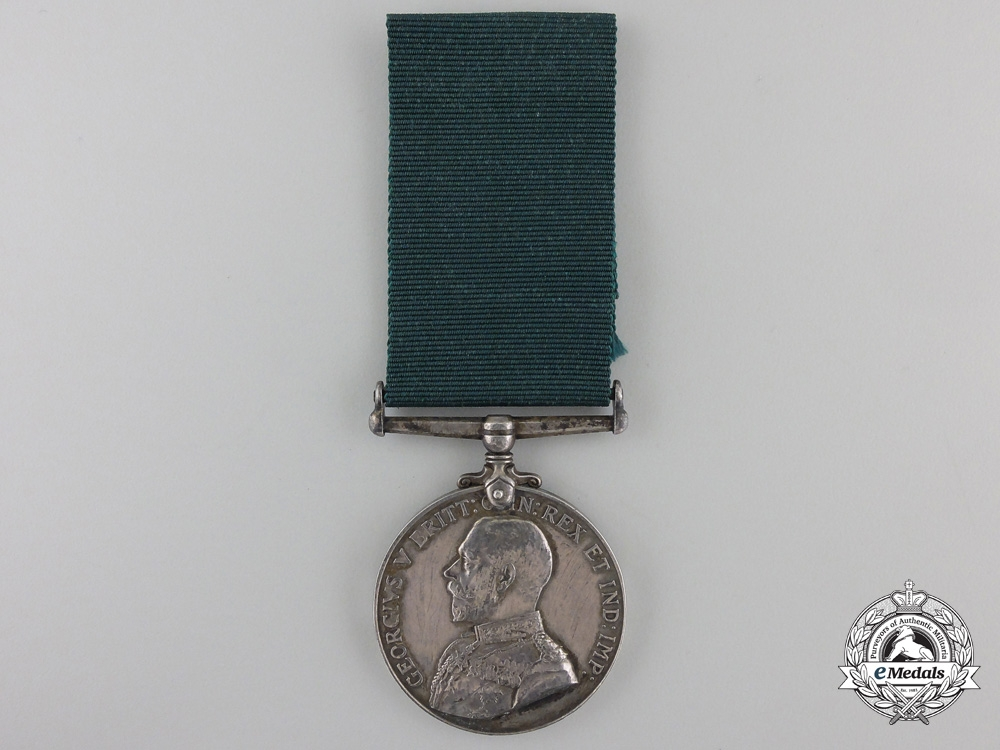 A Colonial Auxiliary Forces Long Service & Good Conduct Medal