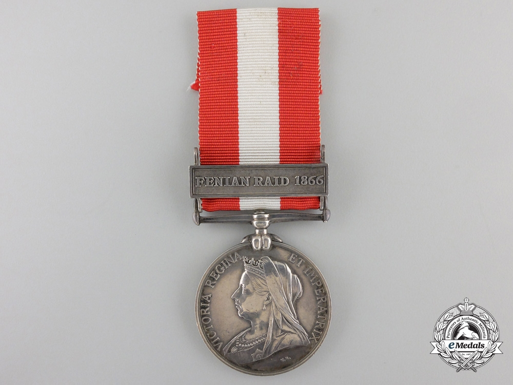 A Canada General Service Medal to the Brant Battalion