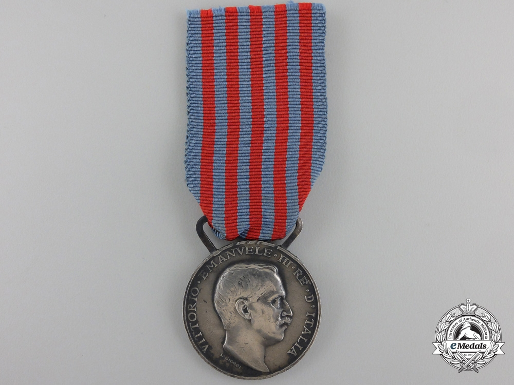 An Italian Campaign Medal for Service inLibya