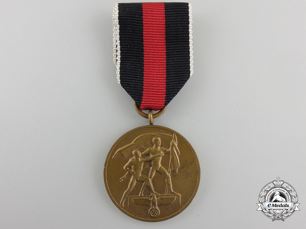 AnOctober 1Commemorative Medal
