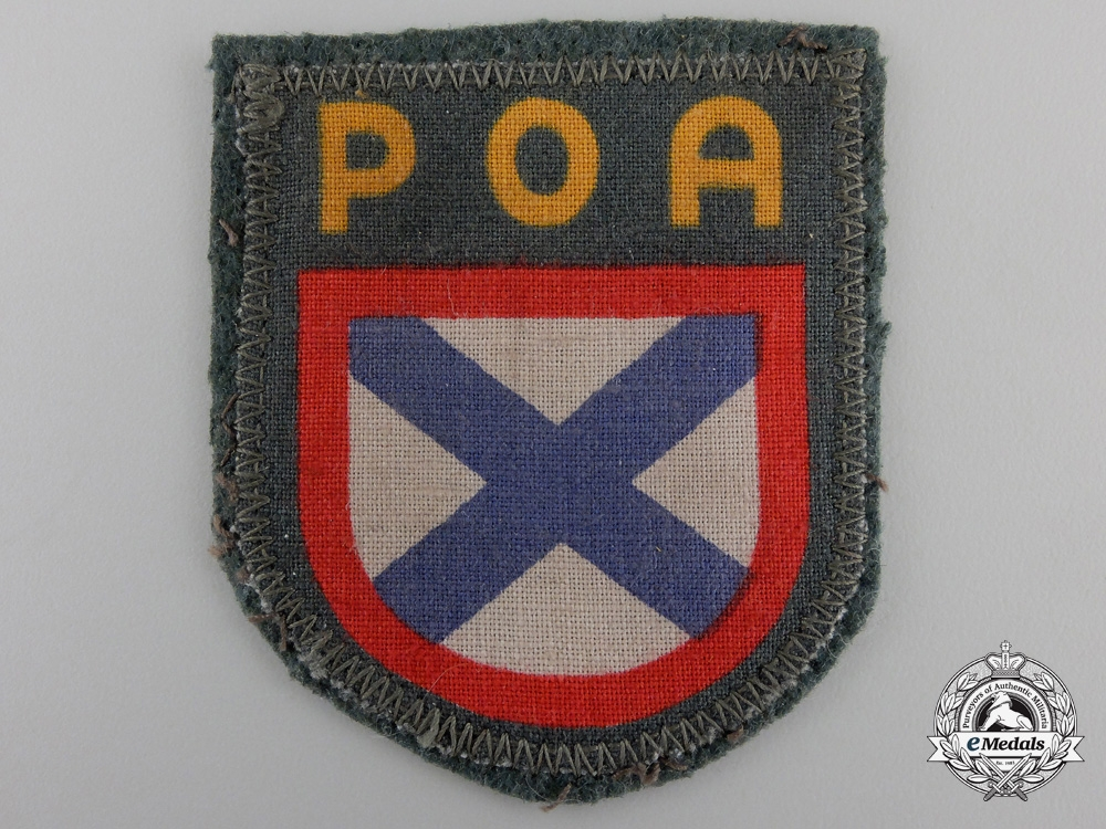A Wehrmacht Army Russian Volunteer Shield