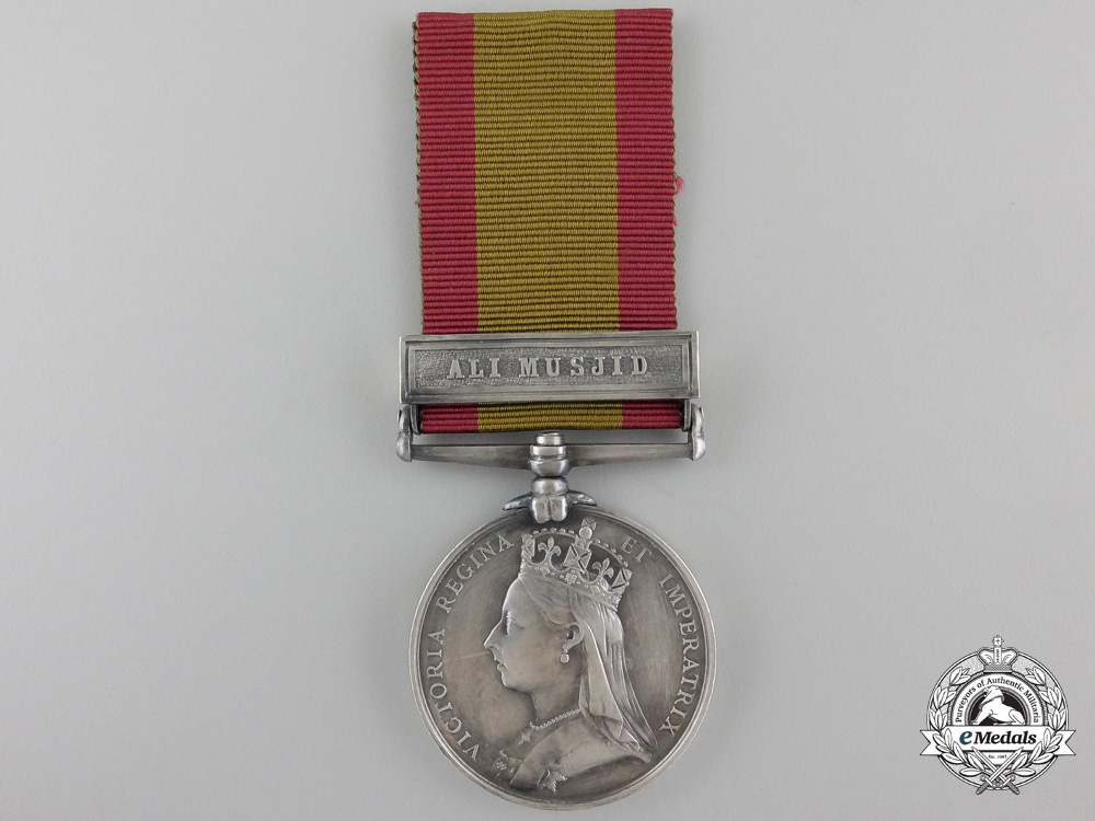 An 1878-1880 Afghanistan Medal to the 81st Regiment of Foot
