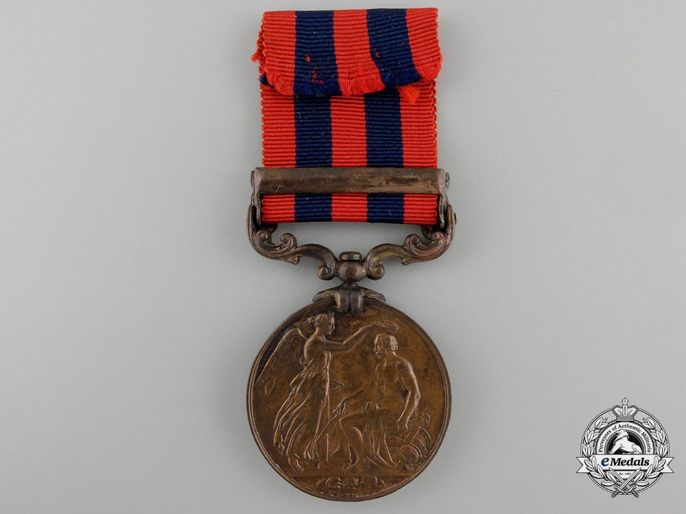A 1854-1895 India General Service Medal to the Transport Cooly Corps