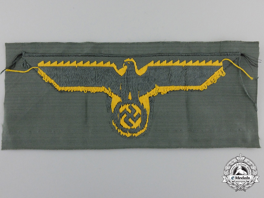 A Wehrmacht Coastal Artillery Breast Eagle