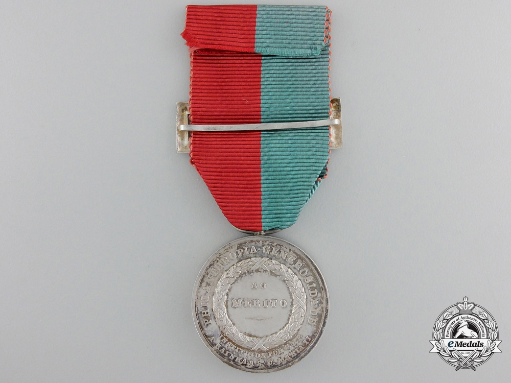A Portuguese Queen Maria II Medal for Philanthropy and Generosity 1833-1853