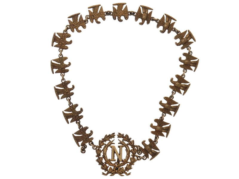 Order of the Iron Crown. Miniature Collar.