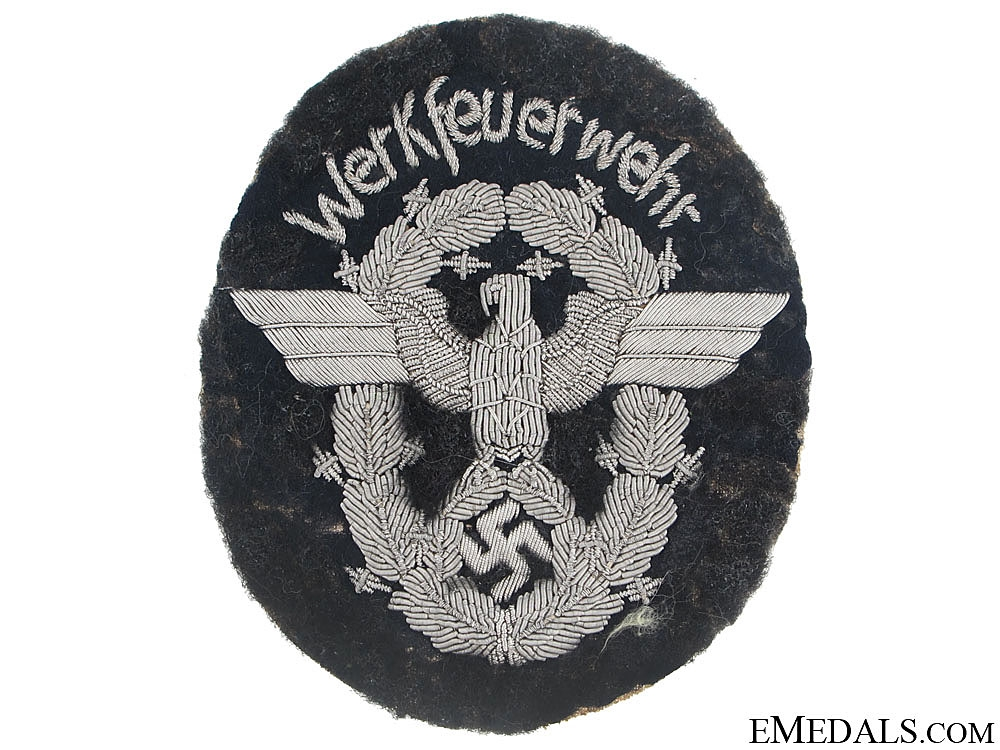 Fire Protection Officer's Arm Badge