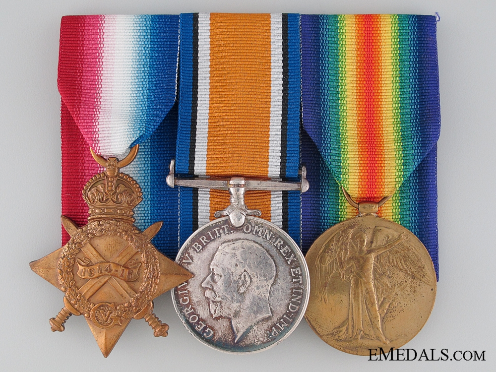 First War Royal Navy Group to Leading Seaman Barr