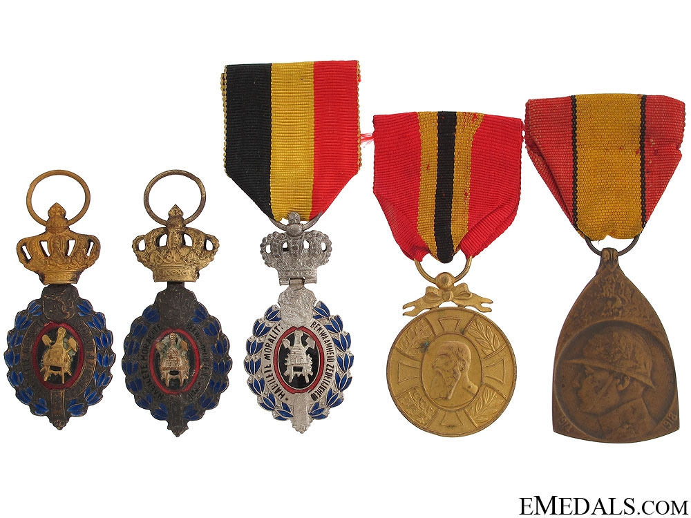 Five Awards and Decorations