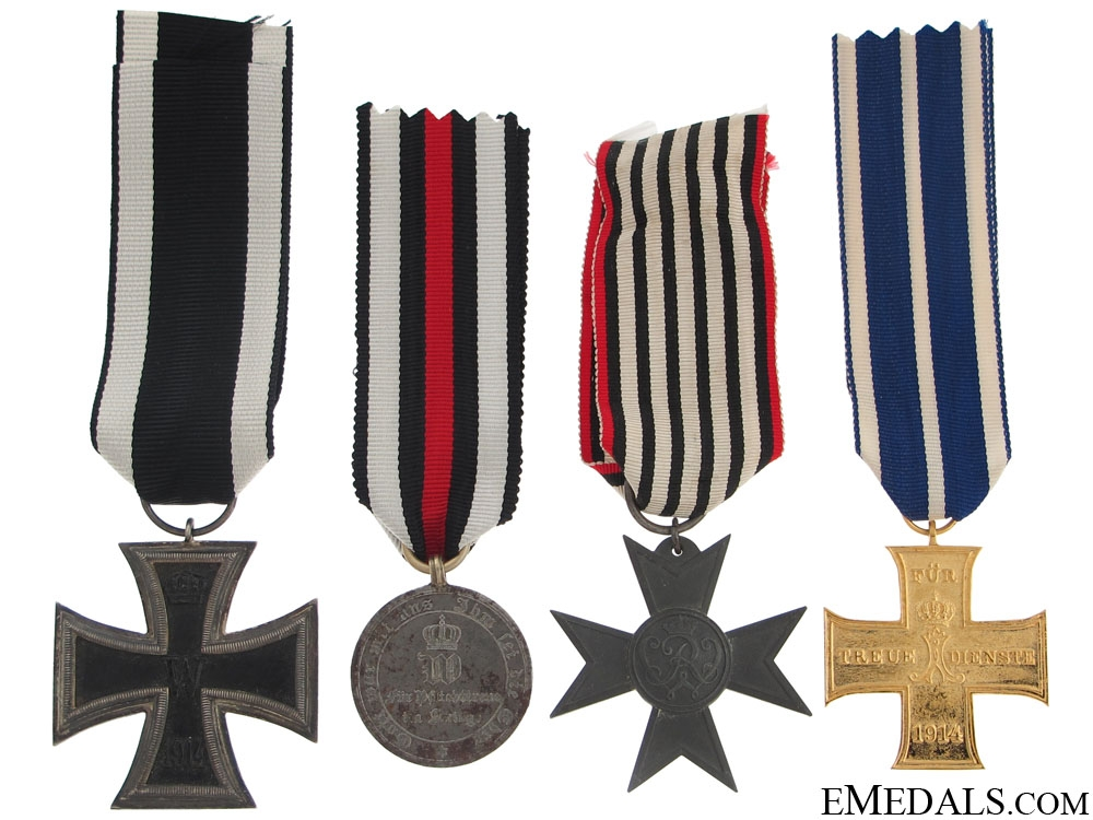 Four Imperial German Awards