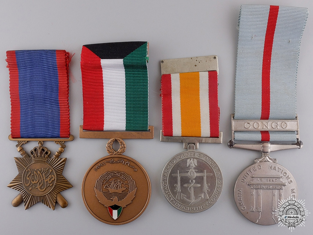 Four International Medals and Awards