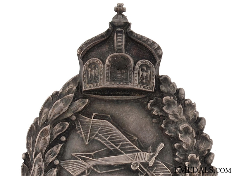 WWI Prussian Pilots Badge-Cased