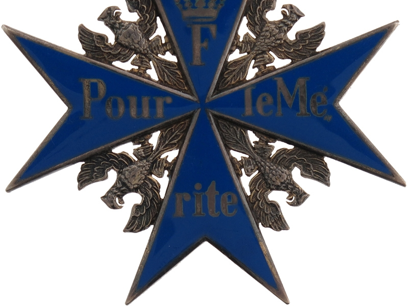 Superb Pour-le-Merite Group of Awards and