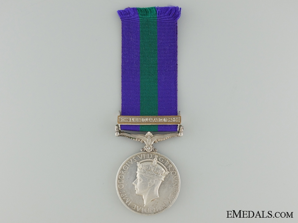 General Service Medal 1918-1962 to the African Pioneer Corps